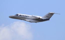 CL&CLさんが、奄美空港で撮影した毎日新聞社 525A Citation CJ2の航空フォト(飛行機 写真・画像)