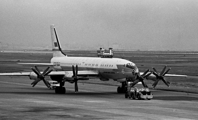 Y.Todaさんが、羽田空港で撮影したアエロフロート・ロシア航空 Tu-114/126の航空フォト(飛行機 写真・画像)