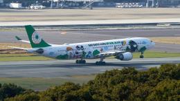 FlyingMonkeyさんが、福岡空港で撮影したエバー航空 A330-302Xの航空フォト(飛行機 写真・画像)