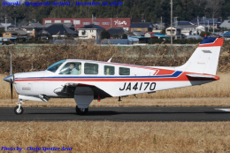 Chofu Spotter Ariaさんが、龍ケ崎飛行場で撮影した日本個人所有 A36 Bonanza 36の航空フォト(飛行機 写真・画像)