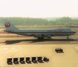 エルさんが、成田国際空港で撮影した日本航空 747-246Bの航空フォト(飛行機 写真・画像)