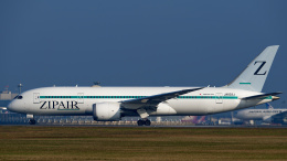 simokさんが、成田国際空港で撮影したZIPAIR 787-8 Dreamlinerの航空フォト(飛行機 写真・画像)