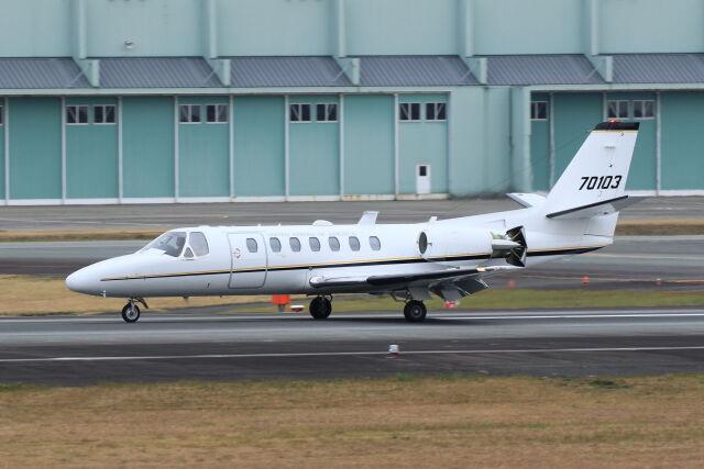 kengo.k@RJFTさんが、熊本空港で撮影したアメリカ陸軍 UC-35A Citation Ultra (560)の航空フォト(飛行機 写真・画像)