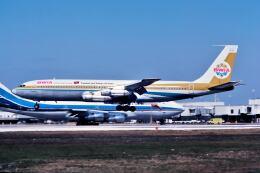 パール大山さんが、マイアミ国際空港で撮影したBWIA ウェスト インディーズ エアウェイズ 707-321Bの航空フォト(飛行機 写真・画像)