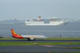そば小猿さんが、羽田空港で撮影した海南航空 737-86Nの航空フォト(飛行機 写真・画像)