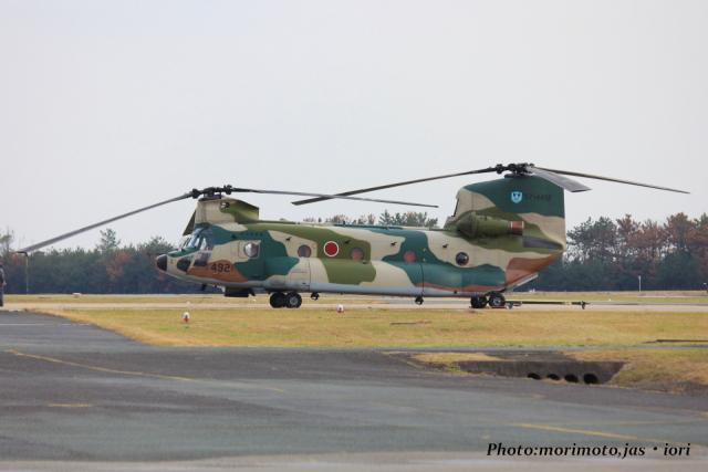 いおりさんが、芦屋基地で撮影した航空自衛隊 CH-47J/LRの航空フォト(飛行機 写真・画像)