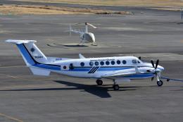 Gambardierさんが、岡南飛行場で撮影したジャプコン King Air 350C (B300C)の航空フォト(飛行機 写真・画像)