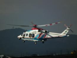 ヒコーキグモさんが、岡南飛行場で撮影した三重県防災航空隊 AW139の航空フォト(飛行機 写真・画像)