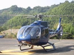 チダ.ニックさんが、静岡ヘリポートで撮影した静岡エアコミュータ EC130B4の航空フォト(飛行機 写真・画像)