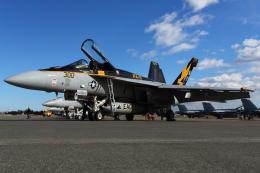 Talon.Kさんが、厚木飛行場で撮影したアメリカ海軍 F/A-18E Super Hornetの航空フォト(飛行機 写真・画像)