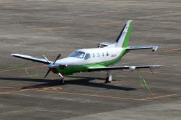 なごやんさんが、名古屋飛行場で撮影した日本法人所有 TBM-700の航空フォト(飛行機 写真・画像)