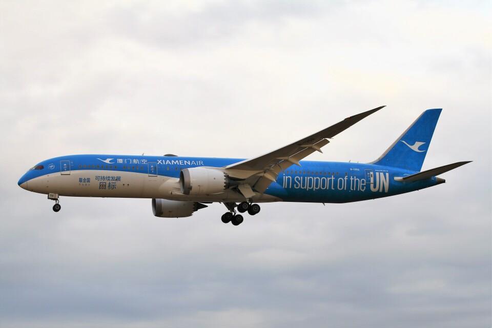 BTYUTAさんの厦門航空 Boeing 787-9 (B-1356) 航空フォト