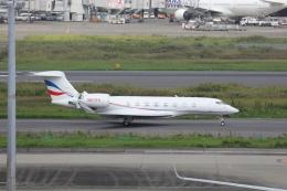 OS52さんが、羽田空港で撮影したウィルミントン・トラスト・カンパニー G650 (G-VI)の航空フォト(飛行機 写真・画像)
