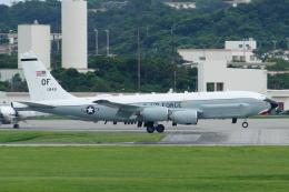 よっしぃさんが、嘉手納飛行場で撮影したアメリカ空軍 RC-135U (739-445B)の航空フォト(飛行機 写真・画像)