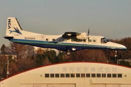 デルタおA330さんが、調布飛行場で撮影した新中央航空 Do 228-212 NGの航空フォト(飛行機 写真・画像)