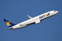 tg36aさんが、羽田空港で撮影したスカイマーク 737-8FZの航空フォト(飛行機 写真・画像)