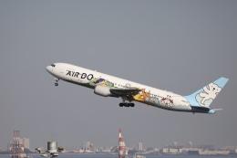 m_aereo_iさんが、羽田空港で撮影したAIR DO 767-381の航空フォト(飛行機 写真・画像)