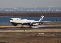 m_aereo_iさんが、羽田空港で撮影したアエロフロート・ロシア航空 A350-941の航空フォト(飛行機 写真・画像)