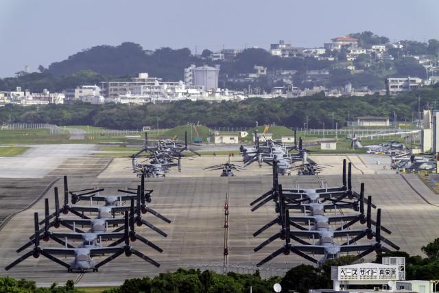 K.Sさんが、普天間飛行場で撮影したアメリカ海兵隊 V-22の航空フォト(飛行機 写真・画像)
