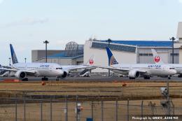 kina309さんが、成田国際空港で撮影したユナイテッド航空 787-8 Dreamlinerの航空フォト(飛行機 写真・画像)