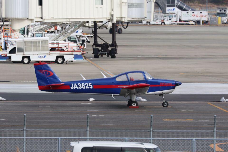 しょうせいさんの日本個人所有 Fuji FA-200 Aero Subaru (JA3625) 航空フォト