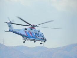 F.YUKIHIDEさんが、岡南飛行場で撮影した三重県防災航空隊 AW139の航空フォト(飛行機 写真・画像)