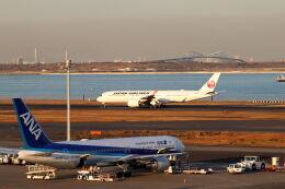 石鎚さんが、羽田空港で撮影した全日空 767-381/ERの航空フォト(飛行機 写真・画像)
