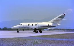 JAパイロットさんが、鹿児島空港で撮影したソニートレーディングインターナショナル Falcon 10の航空フォト(飛行機 写真・画像)