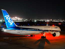 WAiRさんが、福岡空港で撮影した全日空 787-9の航空フォト(飛行機 写真・画像)
