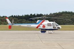 Gripen-YNさんが、能登空港で撮影したつくば航空 AS350B Ecureuilの航空フォト(飛行機 写真・画像)