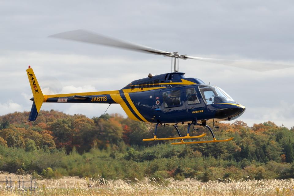 Gripen-YNさんのジャネット Bell 206/406 (JA6113) 航空フォト