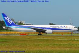 Chofu Spotter Ariaさんが、成田国際空港で撮影した全日空 767-381/ERの航空フォト(飛行機 写真・画像)