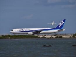 bachi51さんが、那覇空港で撮影したエアージャパン 767-381/ERの航空フォト(飛行機 写真・画像)