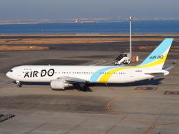 hirohirokinさんが、羽田空港で撮影したAIR DO 767-381/ERの航空フォト(飛行機 写真・画像)