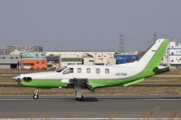 Hii82さんが、八尾空港で撮影した日本法人所有 TBM-700の航空フォト(飛行機 写真・画像)
