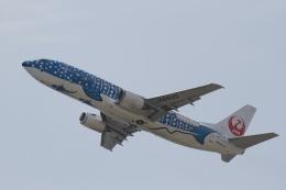 344さんが、関西国際空港で撮影した日本トランスオーシャン航空 737-4Q3の航空フォト(飛行機 写真・画像)