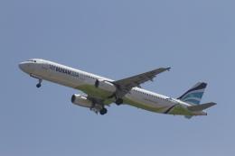 344さんが、関西国際空港で撮影したエアプサン A321-231の航空フォト(飛行機 写真・画像)
