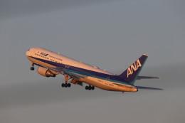 flyflygoさんが、鹿児島空港で撮影した全日空 767-381/ERの航空フォト(飛行機 写真・画像)