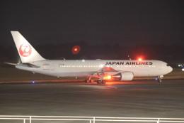 flyflygoさんが、鹿児島空港で撮影した日本航空 767-346/ERの航空フォト(飛行機 写真・画像)