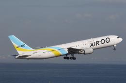 プルシアンブルーさんが、羽田空港で撮影したAIR DO 767-381/ERの航空フォト(飛行機 写真・画像)