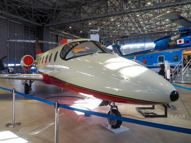 WAiRさんが、名古屋飛行場で撮影した三菱重工業 MU-300 Diamond 1の航空フォト(飛行機 写真・画像)