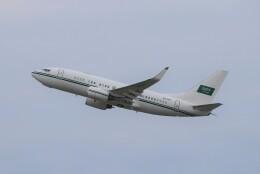 TAOTAOさんが、中部国際空港で撮影したサウジアラビア王室空軍 737-7DP BBJの航空フォト(飛行機 写真・画像)