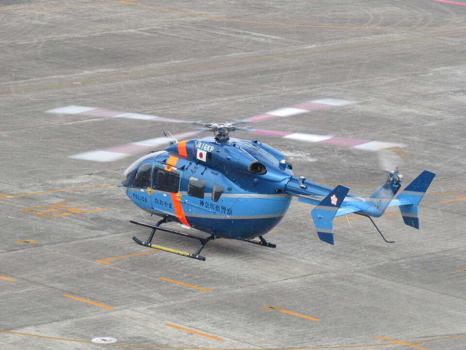F.YUKIHIDEさんの神奈川県警察 Kawasaki BK117 (JA16KP) 航空フォト