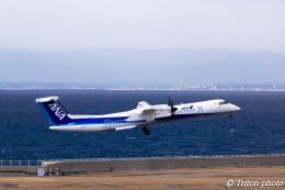 triton@blueさんが、中部国際空港で撮影したANAウイングス DHC-8-402Q Dash 8の航空フォト(飛行機 写真・画像)