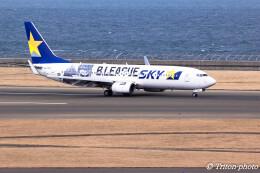 triton@blueさんが、中部国際空港で撮影したスカイマーク 737-86Nの航空フォト(飛行機 写真・画像)