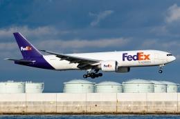 Ariesさんが、関西国際空港で撮影したフェデックス・エクスプレス 777-FS2の航空フォト(飛行機 写真・画像)