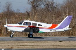 よっしぃさんが、大利根飛行場で撮影した日本個人所有 PA-28-161 Warrior IIIの航空フォト(飛行機 写真・画像)