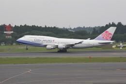 もぐ3さんが、成田国際空港で撮影したチャイナエアライン 747-409の航空フォト(飛行機 写真・画像)