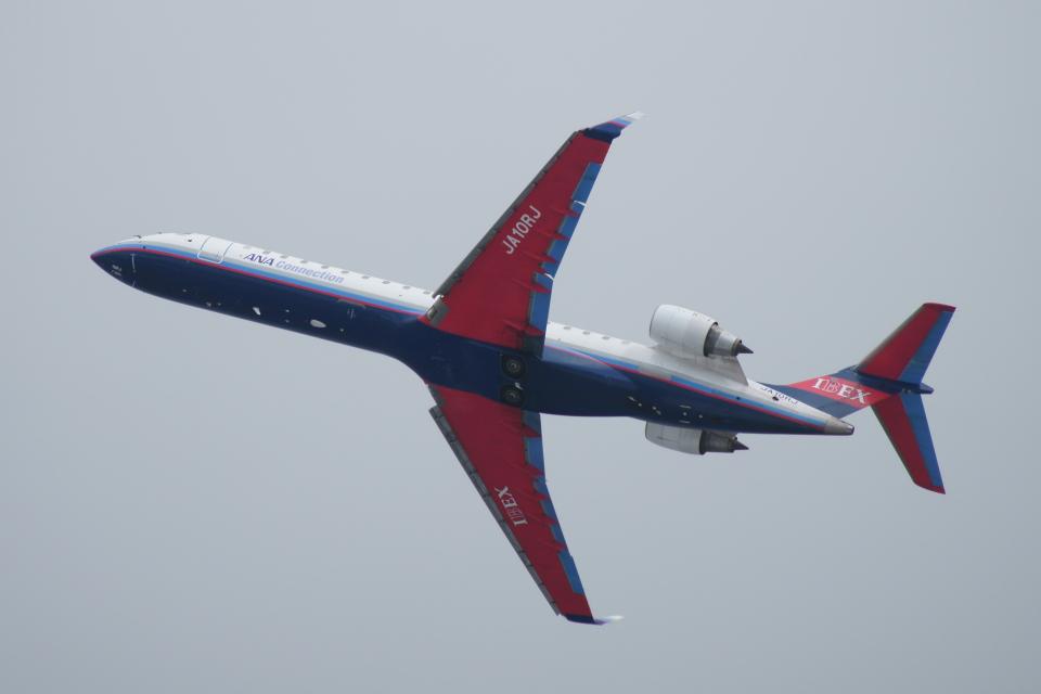 kij niigataさんのアイベックスエアラインズ Bombardier CRJ-700 (JA10RJ) 航空フォト