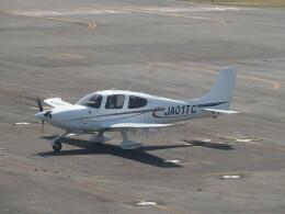 F.YUKIHIDEさんが、岡南飛行場で撮影したジャパン・ジェネラル・アビエーション・サービス SR20の航空フォト(飛行機 写真・画像)